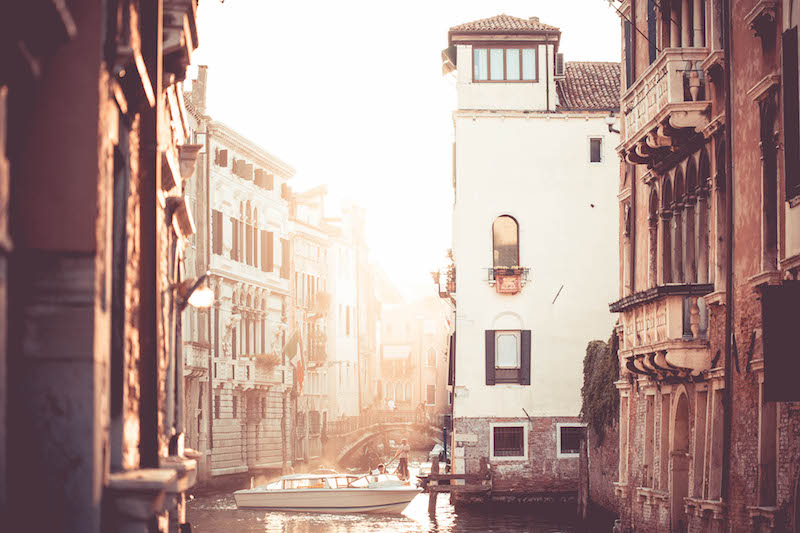 movie locations in Italy, dragonfly tours, venice