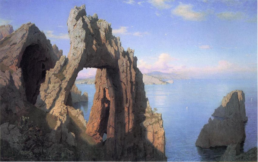 The Natural Arch in Capri