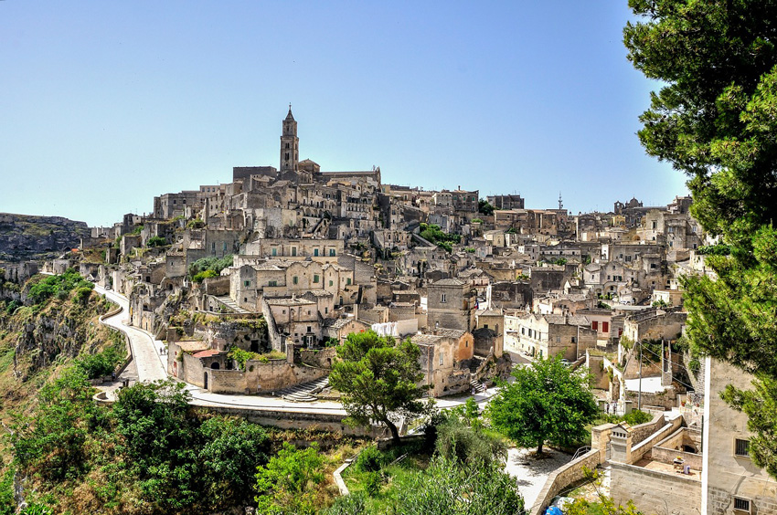 "Matera and its ""Sassi"": a city made of stone"