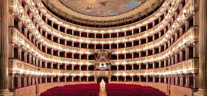 theatres in italy, dragonfly tours, san carlo, naples