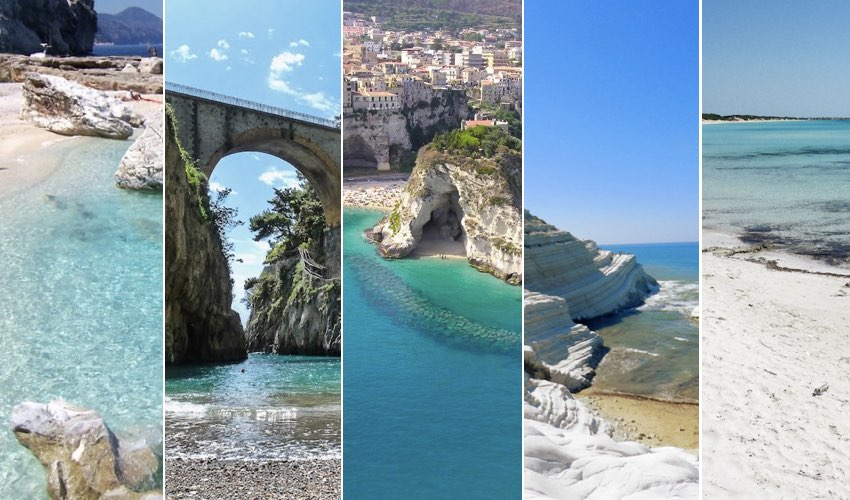 5 best beaches of southern Italy