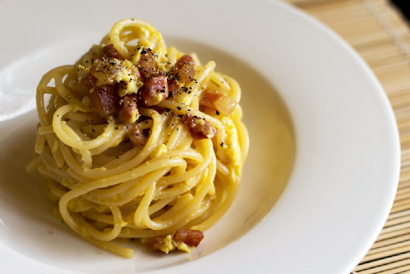 How to cook the real spaghetti alla Carbonara at home