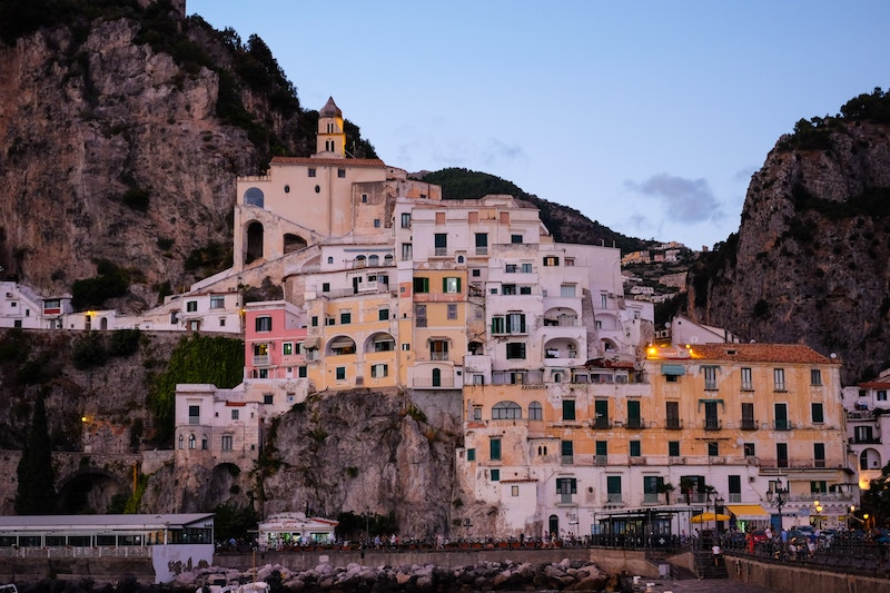 off-season in italy, Amalfi Coast