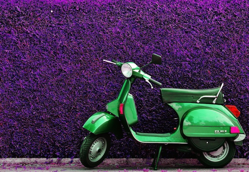 Vespa, an Italian icon
