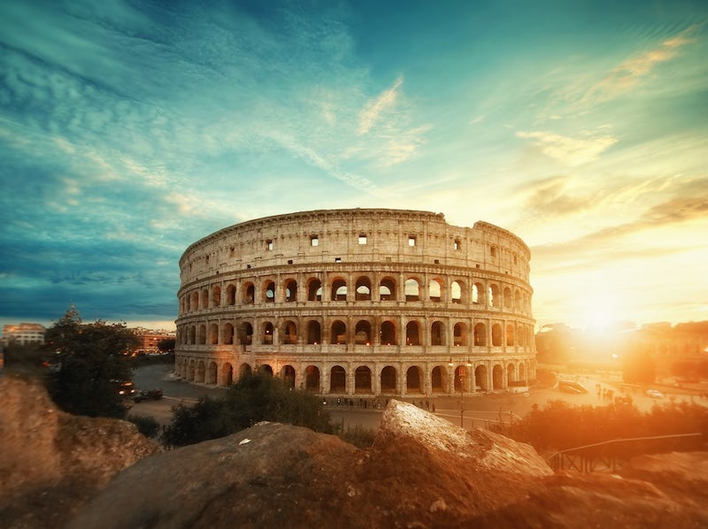 images of italy, dragonfly tours, colosseum