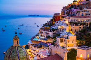 Romantic vacations in Italy - view of Positano