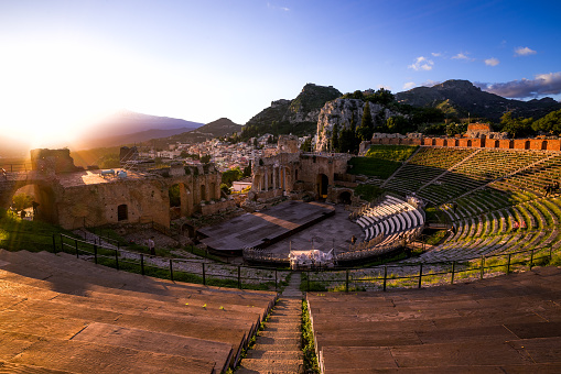 Taormina: Glories of the Past and Splendor of the Present