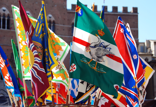 The essence of the Sienese is in the Palio of Siena, the horse race